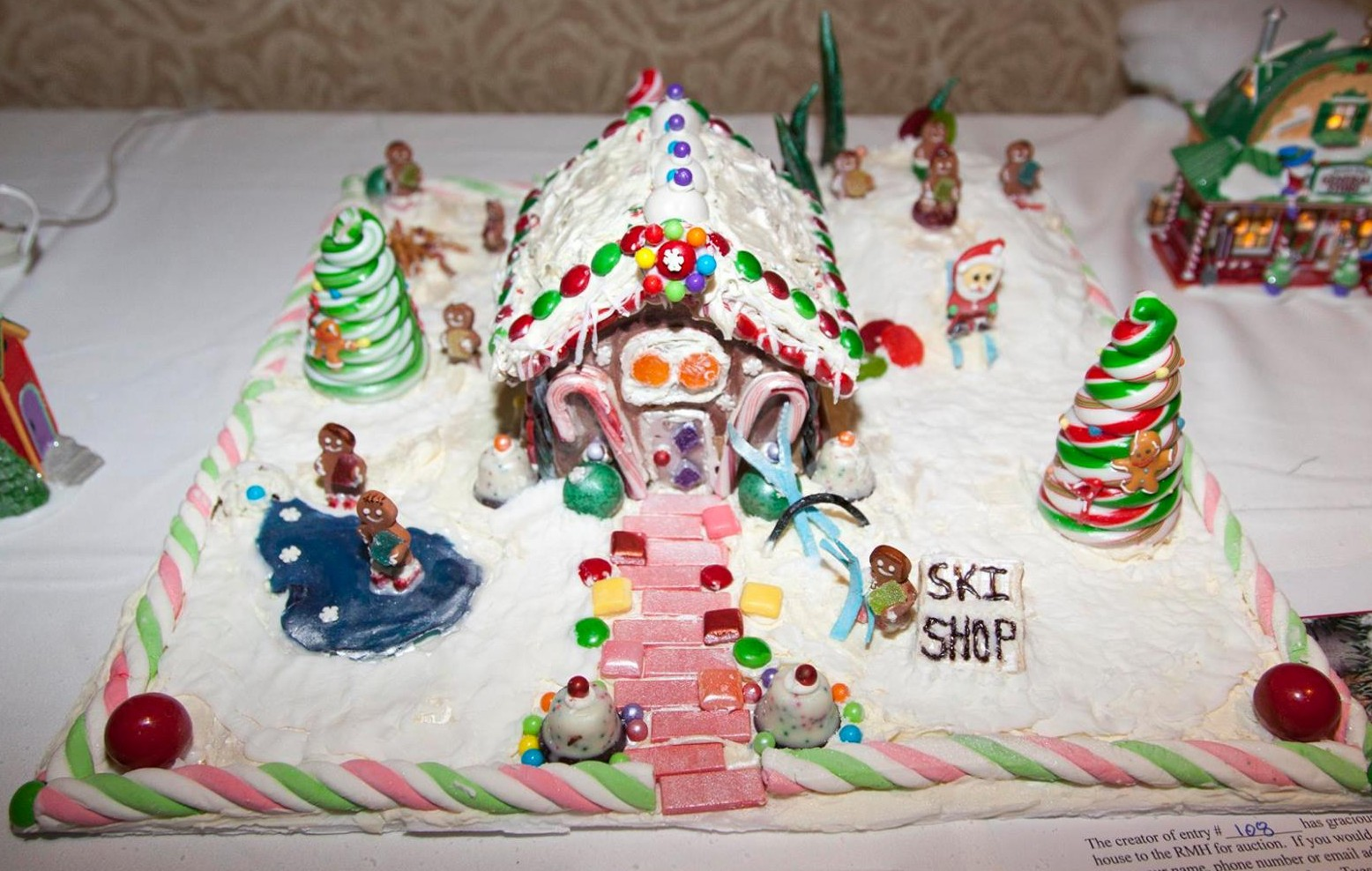 patient services gingerbread house