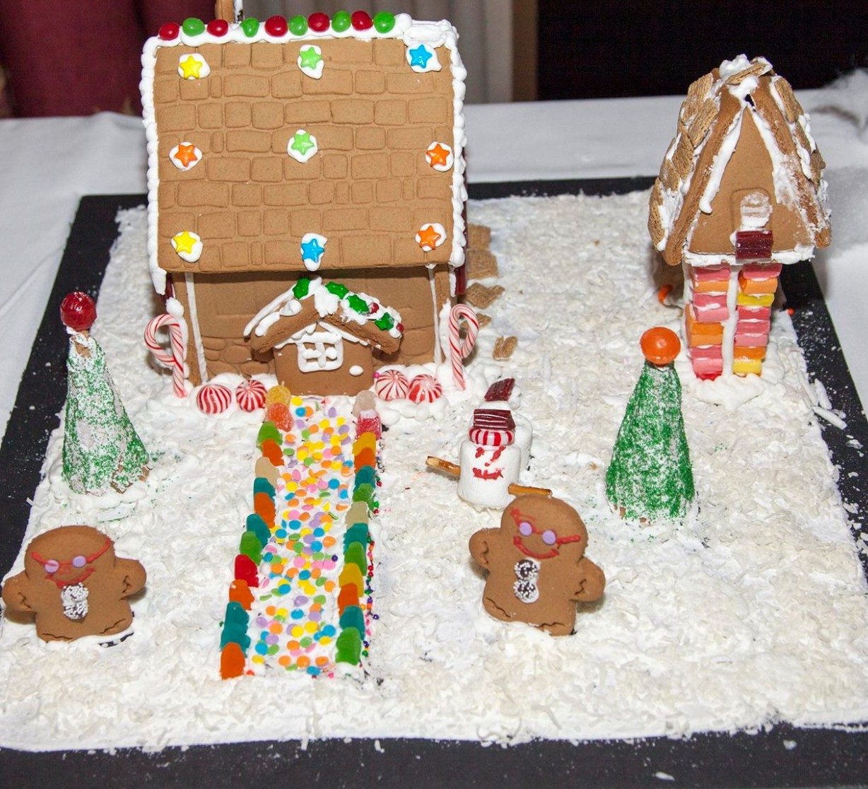 ethan gingerbread house
