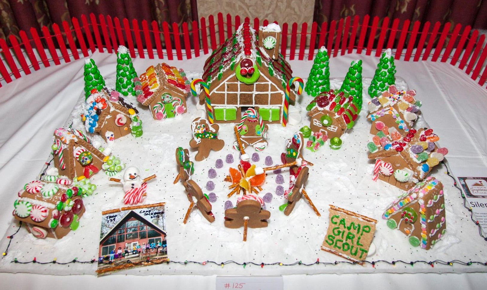 girl scout gingerbread house